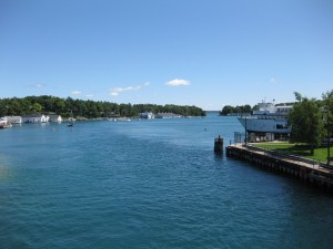 Round Lake From Charlevoix Main Street Bridge