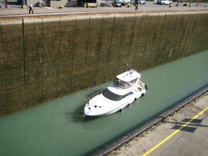 Preparing to Leave Welland Lock 3