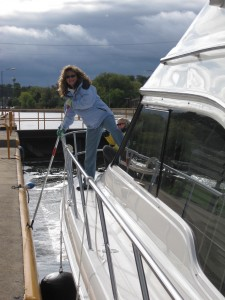 Susan In The Erie Canal
