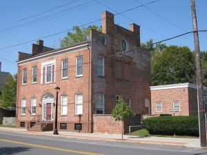 A Historic Building On The Erie Canal