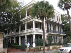 Front Porches in Charleston